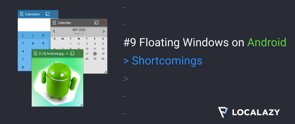 Cover image for Shortcomings of floating windows on Android