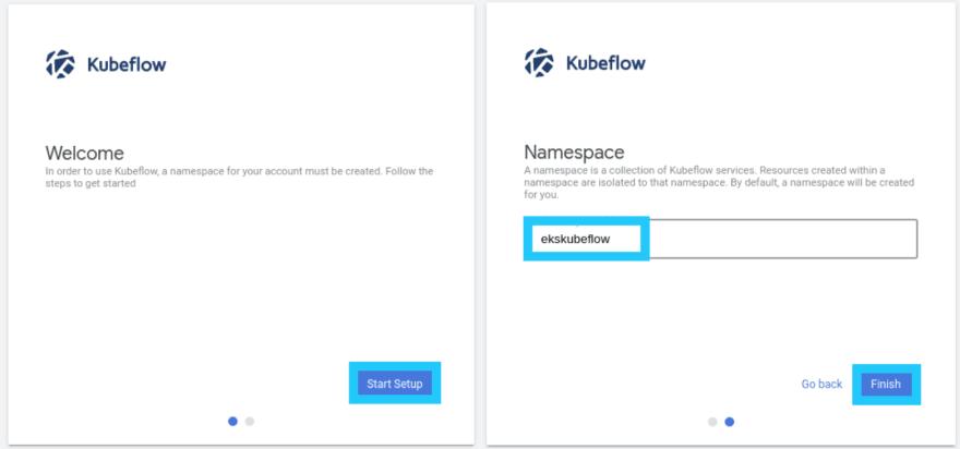 Setup Kubeflow