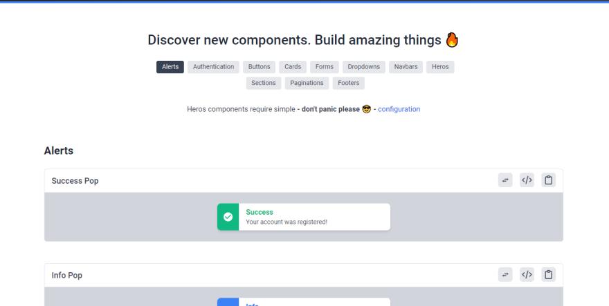 Meraki UI landing page