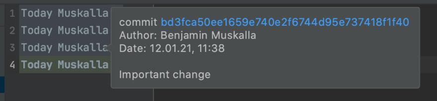 IntelliJ Ignoring Changes