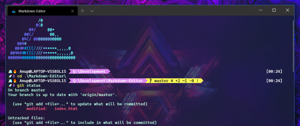 Cover image for Beautify your Windows Terminal 🦄