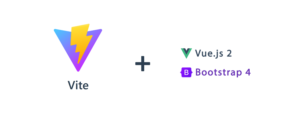 Cover image for How to create a Vue.js 2 / Bootstrap 4 project with Vite
