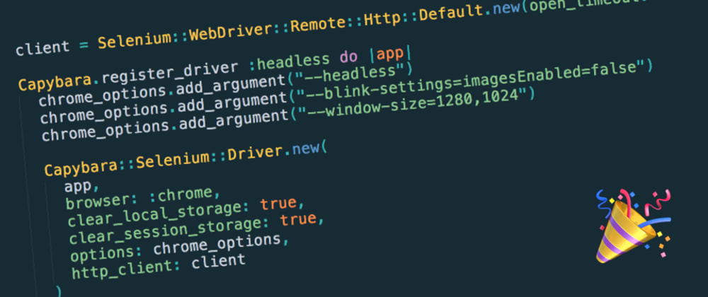 Cover image for Moving your Rails test suite from PhantomJS to Headless Chrome