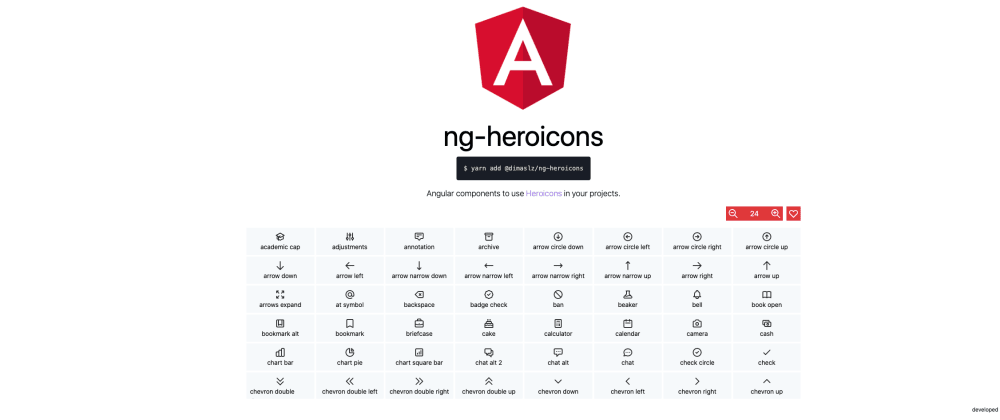Cover image for Use heroicons.com in your Angular applications