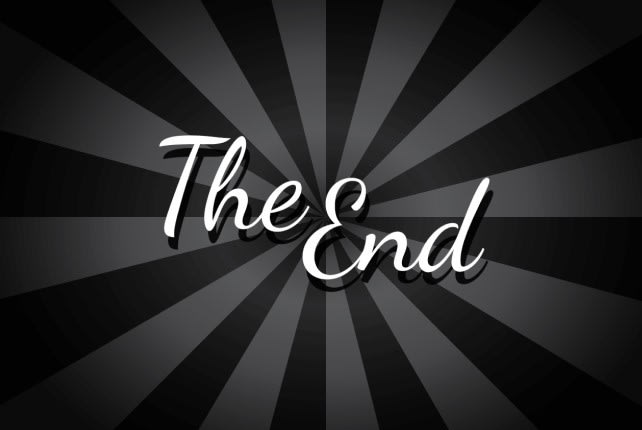 The End graphics