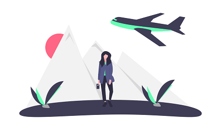 journey in the mountains