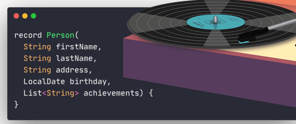 Cover image for 🚀 Java 14 Records 💾 (Preview)