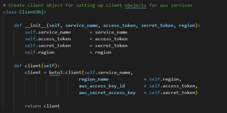 Client Object