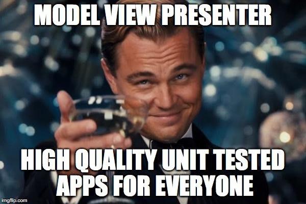 model view presenter ios unit tests