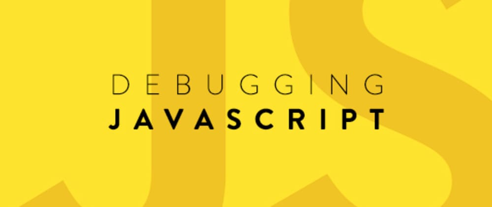Cover image for Debugging JavaScript Using The Browser's Developer Console
