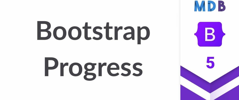 Cover image for Bootstrap 5 Progress