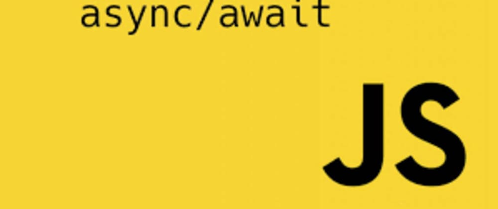 Cover image for A taste of syntactic sugar with async/await