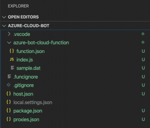 Function Folder Structure