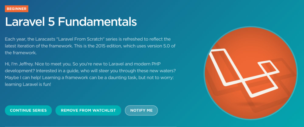 Cover image for Create a Web App with Laravel 5.0