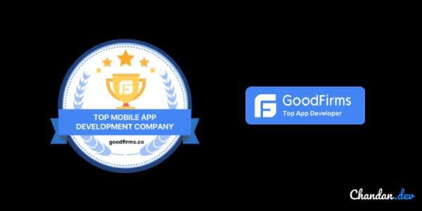 Goodfirms badges