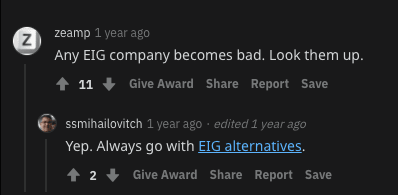 Hostgator reddit's opinion