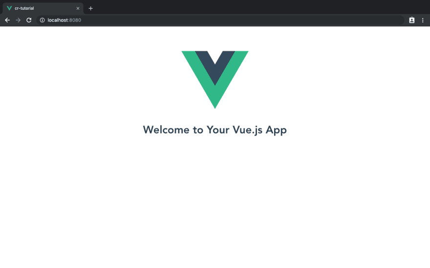 fresh vue installation
