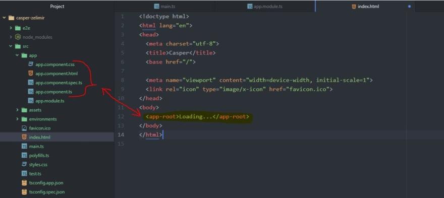 Angular app.component.ts - app.component.ts