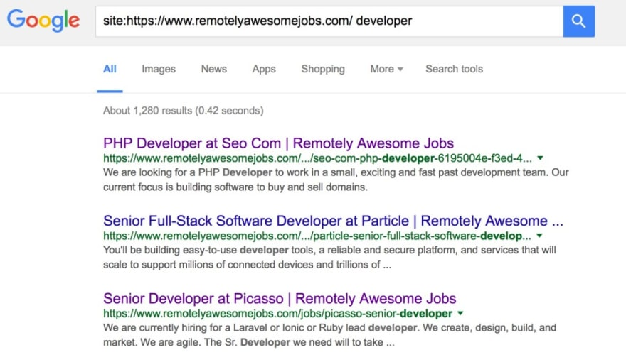 Remotely Awesome Jobs