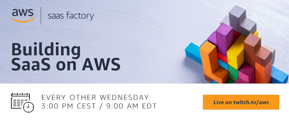 Cover image for Introducing the Building SaaS on AWS show