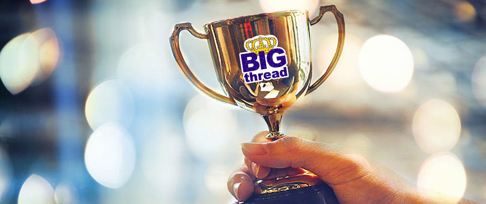 Cover image for Congratulations to Phil Nash for being the first winner of the Big Thread Badge