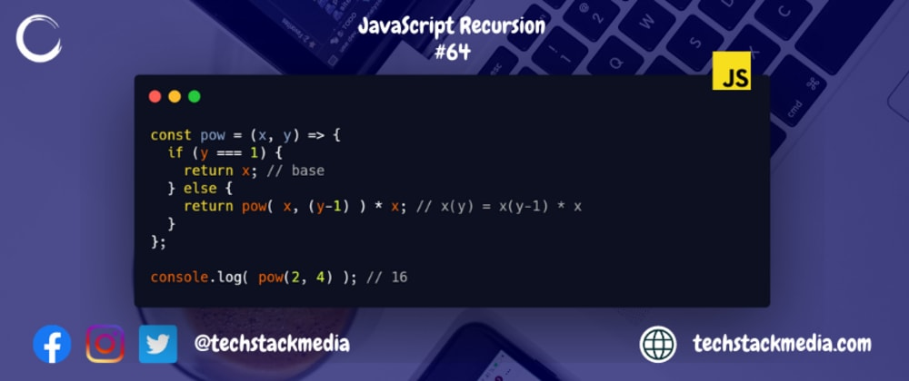 Cover image for JavaScript Recursion