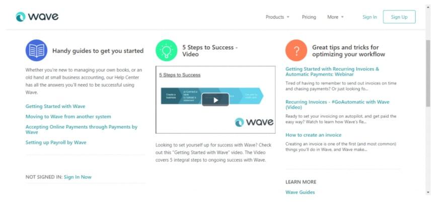 wave software programs