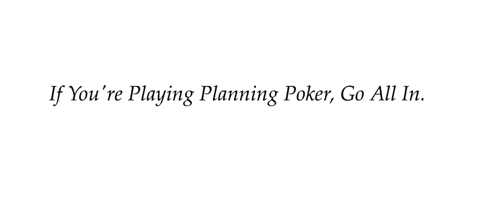 Cover image for Estimates and Anchoring When Playing Planning Poker