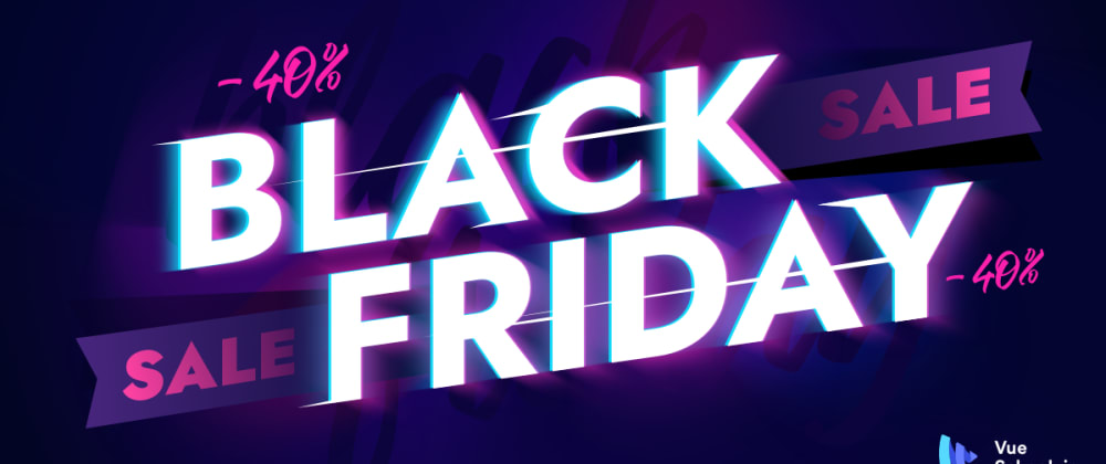 Cover image for Vue School is offering an amazing Black Friday discount this year.