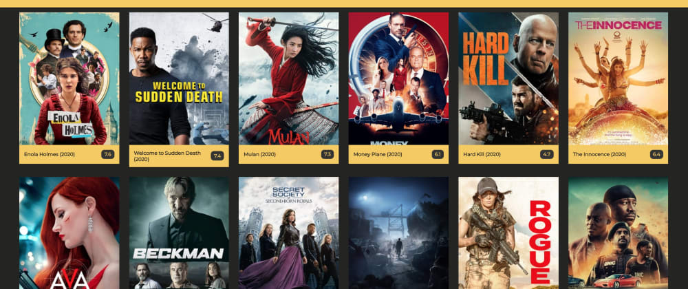 Cover image for React Project: Movie App