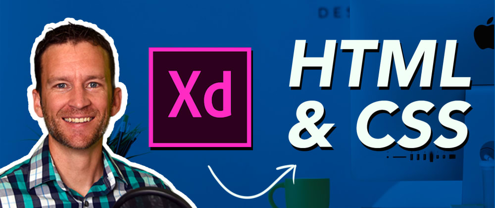 Cover image for Convert Adobe XD Prototype Mockup to HTML, CSS Code