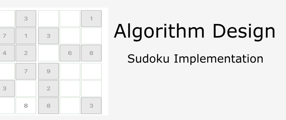 Cover image for Sudoku in React