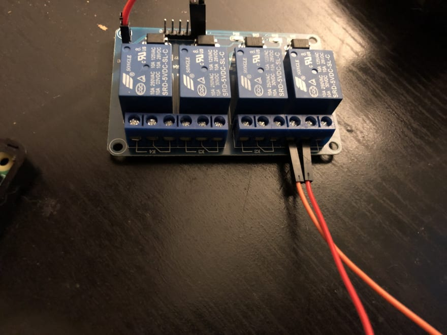 Relay output wiring