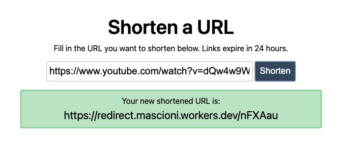 Redirecting to our favourite video