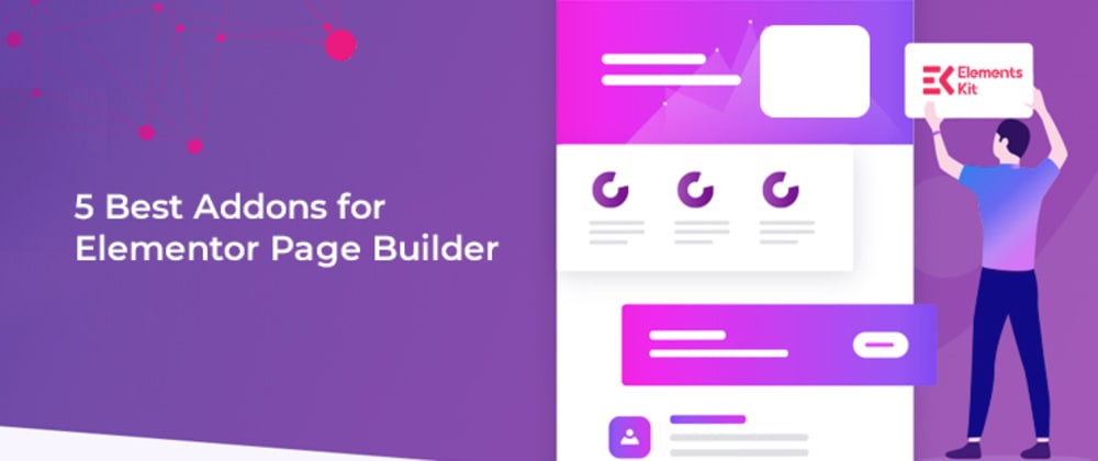 Cover image for 5 Best Addons for Elementor Page Builder - Powered by Wpmet
