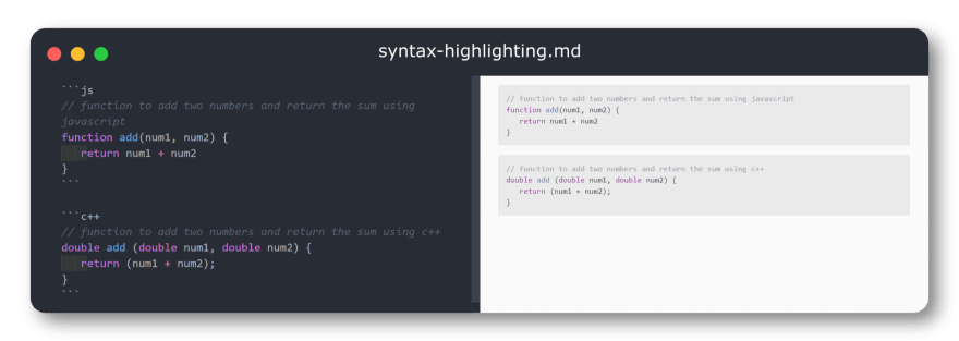 syntax-highlighting-in-markdown