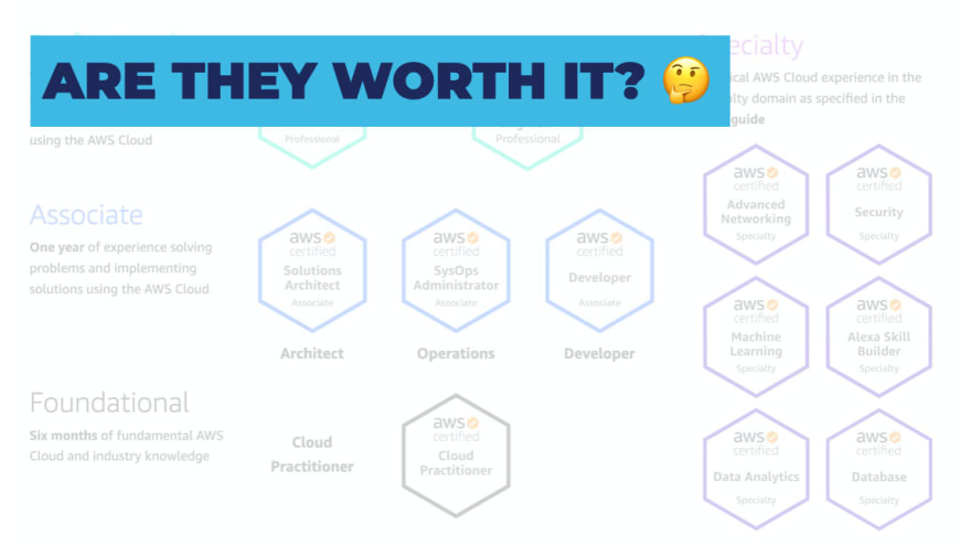 Are cloud certifications worth it?