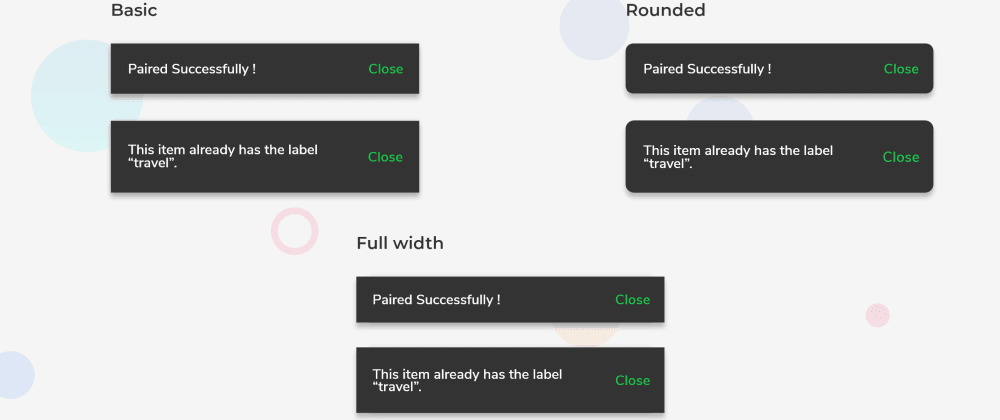 Cover image for GFToast - A Flutter Toast Widget