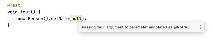 NotNull warning