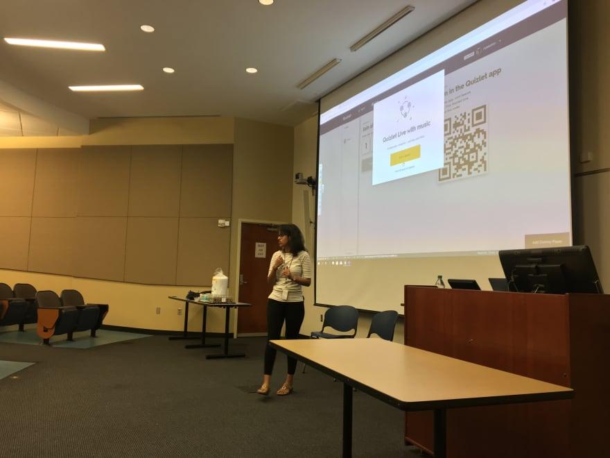 Riya speaking in Auburn