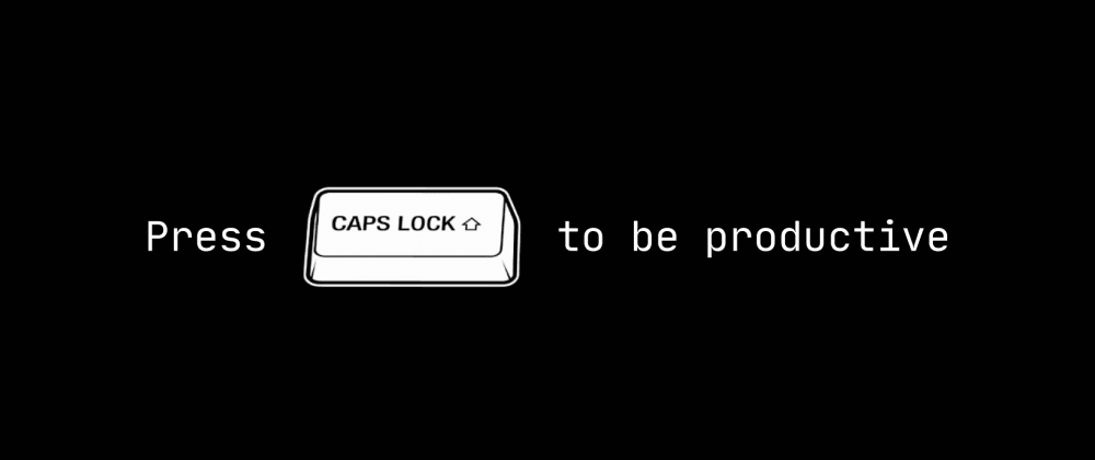 💎 Productivity for coders: Caps Lock as a keyboard layout switcher