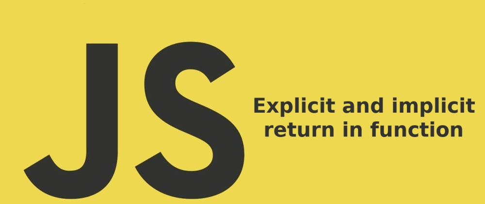 Cover image for Explicit and implicit return in function (Spanish)