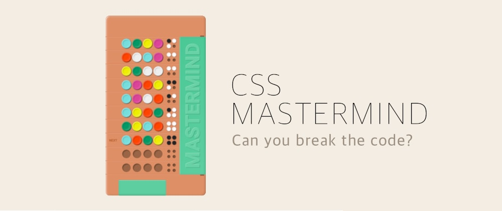 Cover image for CSS Mastermind