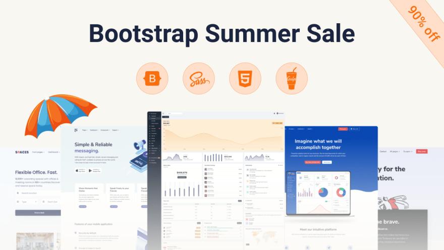 Themesberg – Bootstrap UI Kits and Dashboards – 90% OFF