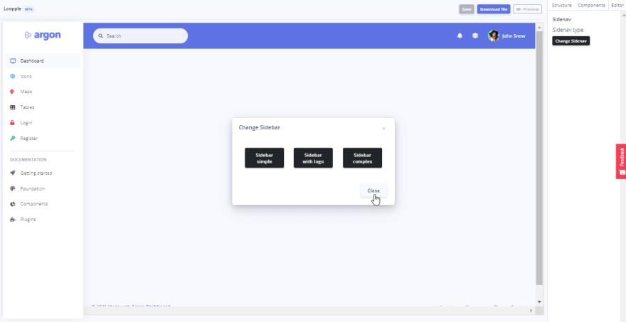 Loople - DYI Dashboard Builder.