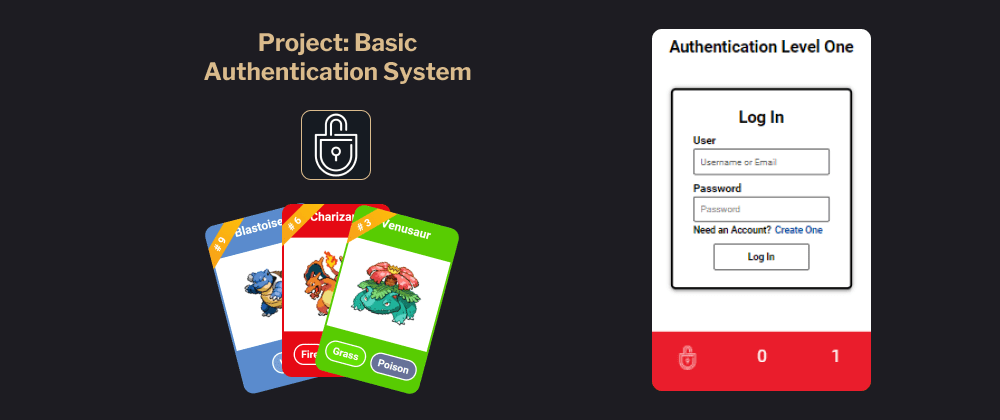 Cover image for Project: Basic Authentication System