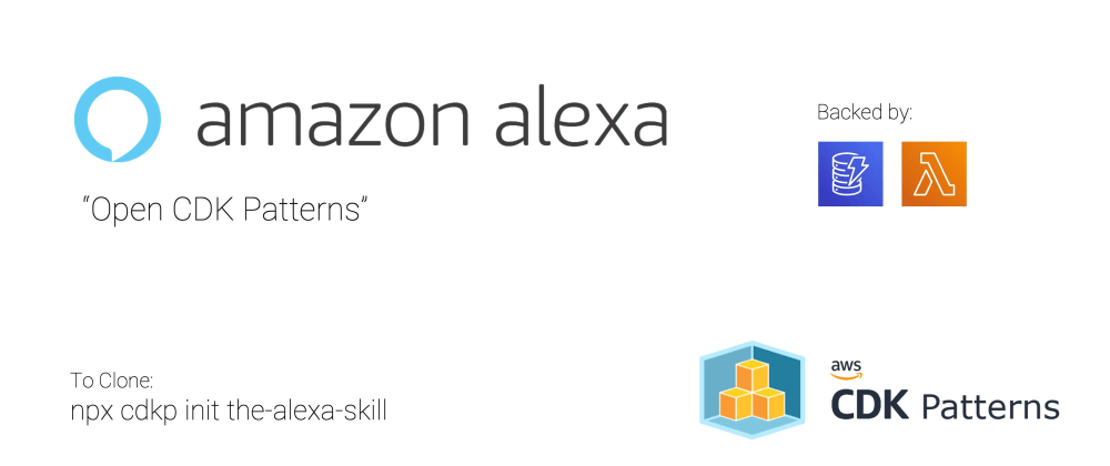 Cover image for Add Voice To Your Serverless Apps with Alexa Through AWS CDK