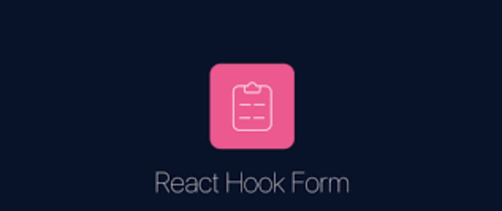 Cover image for React Hook Form - A fast, performant and easy way to manage your forms in your react.js apps