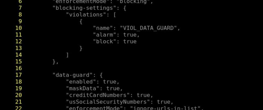 Cover image for เสริมความปลอดภัยให้ Backend Applications ด้วย NGINX App Protect - ตอนที่ 3 - ปรับแต่ง NGINX App Protect - Data Guard