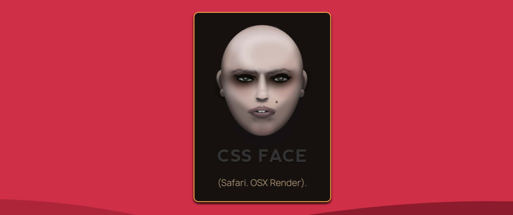 Cover image for CSS Face